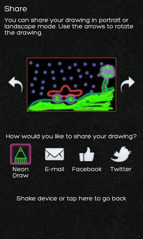 Neon Draw Free - screenshot