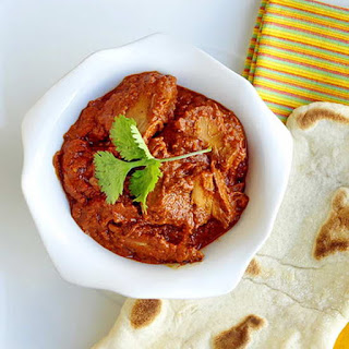 Easy Leftover Turkey Tomato Curry