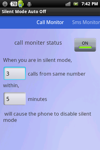 Silent Mode Auto Off