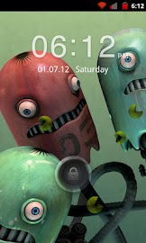 Go Locker Red Four Key Theme Screenshot 1