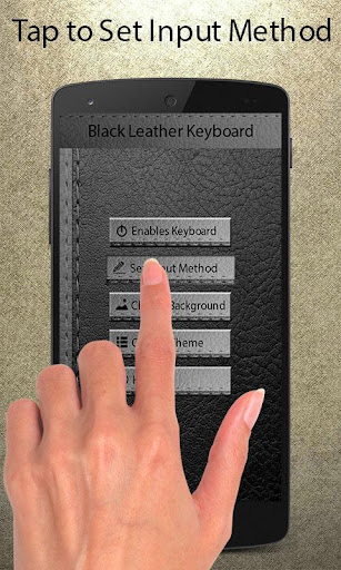 BlackLeather My Photo Keyboard