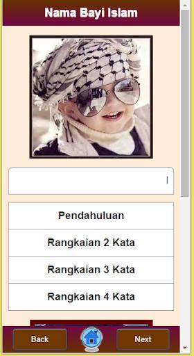 Kumpulan Nama Bayi Islami