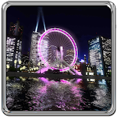 3D Ferris Wheel Live wallpaper