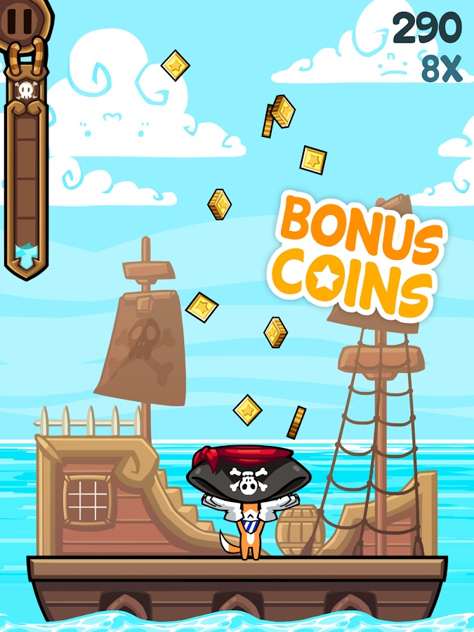 Tappy's Pirate Quest - Free - screenshot