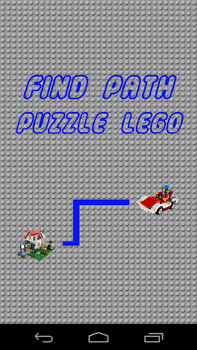 Find Path Puzzle Lego Brick