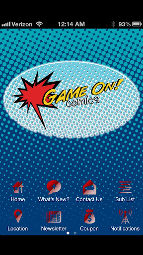 Game On Comics