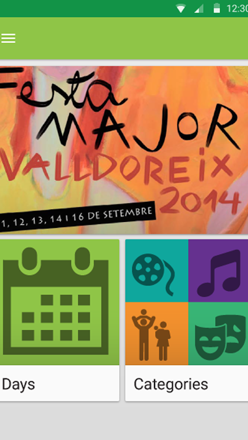 Agenda de Valldoreix- screenshot