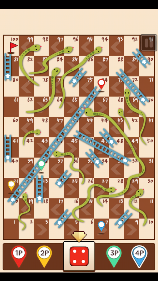 Snakes-Ladders-King 28