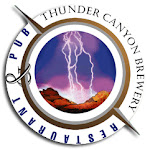 Logo for Thunder Canyon Brewery