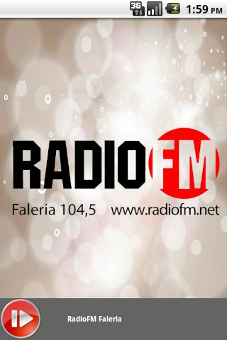 RadioFM Faleria - screenshot