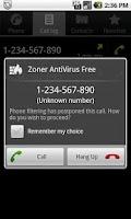 Screenshot of Zoner AntiVirus