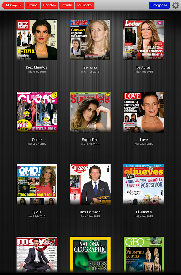 Kiosko y Más prensa y revistas - screenshot