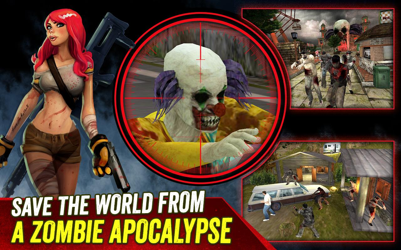 Zombie Hunter: Halloween Ed.- screenshot