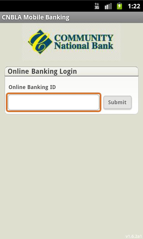 CNBLA Mobile Banking - screenshot