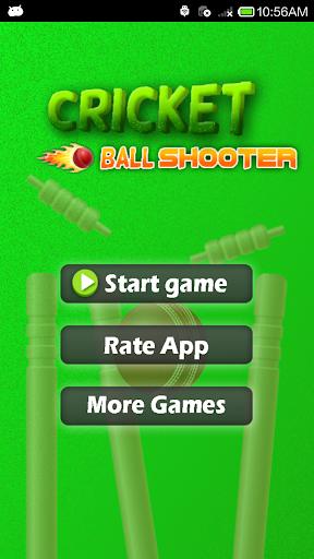 Cricket Ball Shooter