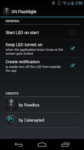 Nexus Flashlight - screenshot thumbnail