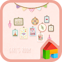 girl's room dodol theme icon