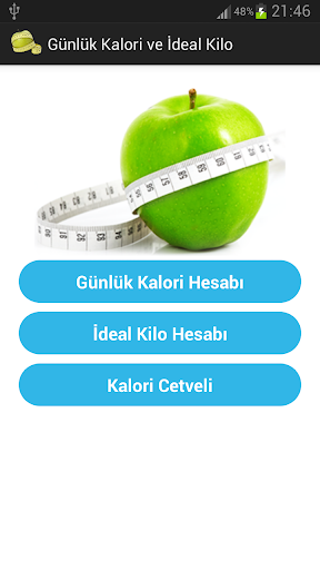 Günlük Kalori ve İdeal Kilo