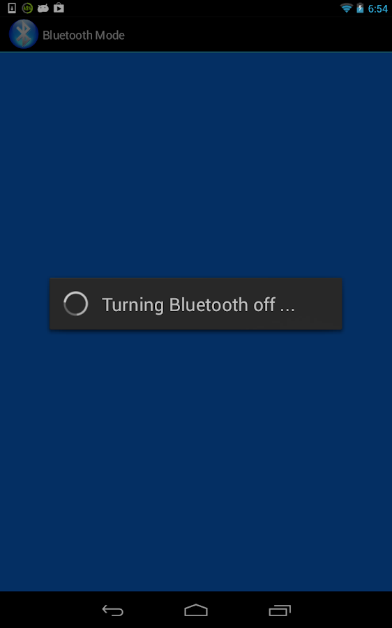 Bluetooth On/Off Switch Toggle- screenshot