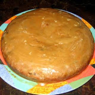 Rum Cranberry Applesauce Bundt Cake.