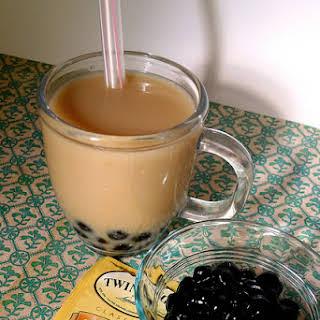 Earl Grey Bubble Tea.