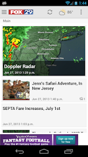 MyFoxPhilly Fox29 News - screenshot thumbnail