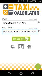 Taxi-Calculator - screenshot thumbnail