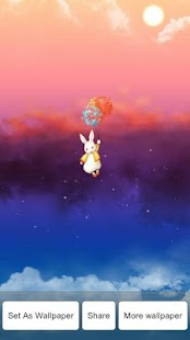 Lucky bunny live wallpaper - screenshot thumbnail