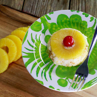 Grant's No-Bake Pineapple Upside-Down Cakes
