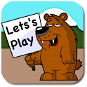 Kids Animal Game logo