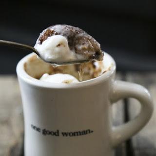 Snickerdoodle Mug Cake {single serve cinnamon vanilla butter cake}