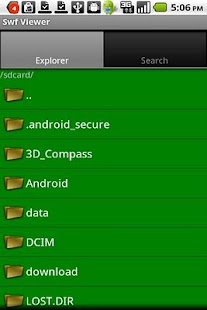 SWF Player - Flash File Viewer Android App
