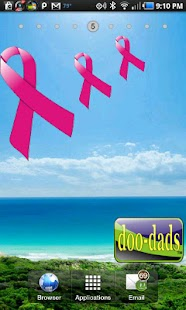 Breast Cancer Ribbon doo-dad - screenshot thumbnail