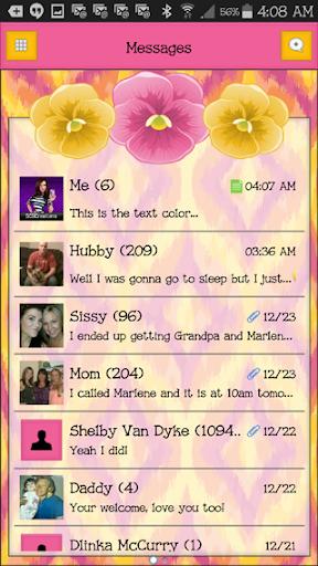 GO SMS THEME - SCS444