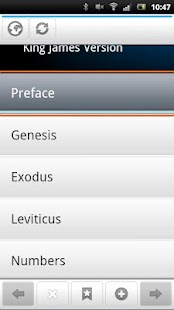Holy Bible -King James Version- screenshot thumbnail