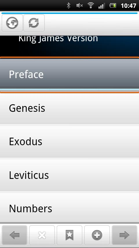 Holy Bible -King James Version - screenshot