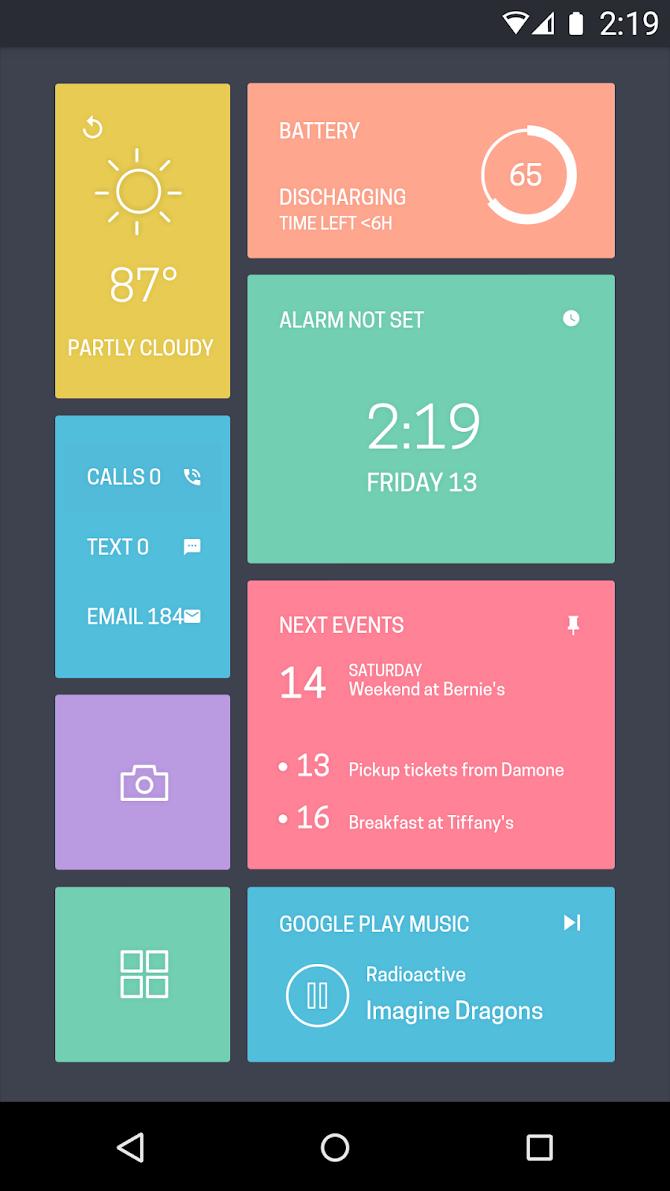 Zooper Widget Pro Android 3
