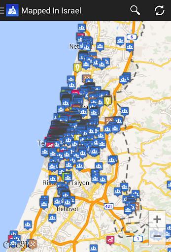 Mapped In Israel