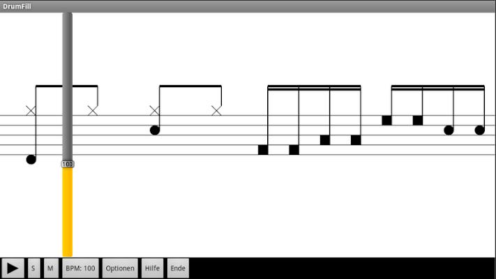 DrumFill (free) by RTF - screenshot