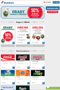 Domino's Pizza DK screenshot 4