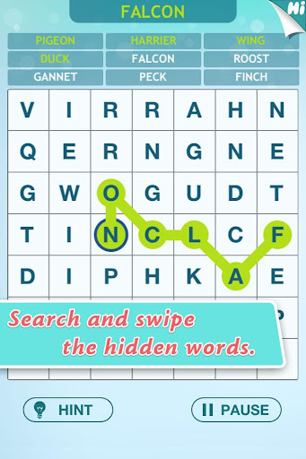 Word Hunter - Search and Swipe