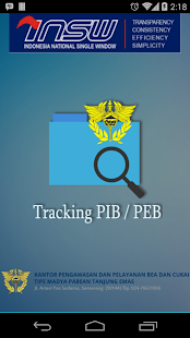 Tracking PIB/PEB- screenshot thumbnail
