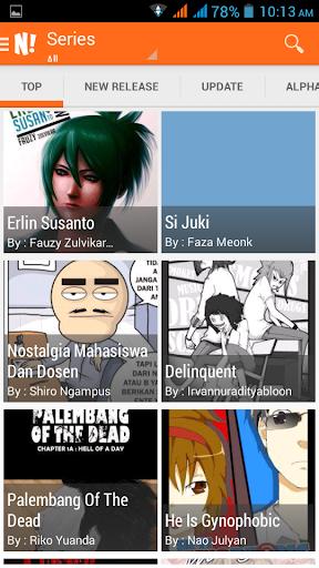 NGOMIK - Baca Komik Indonesia 1.2.5 screenshots 3