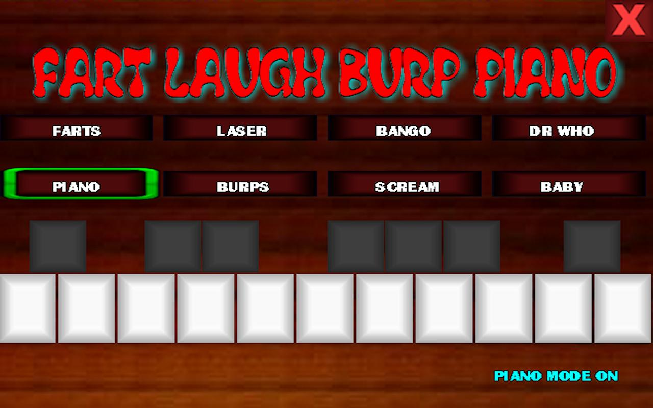 fart laugh burp piano - screenshot