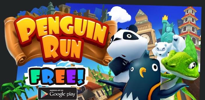 Penguin Run (Бегущий Пингвин) - скачать новый рунер