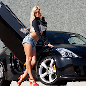 Cars and girls live wallpaper