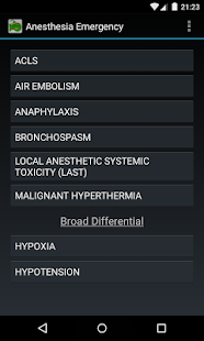 Anesthesia Emergency screenshot
