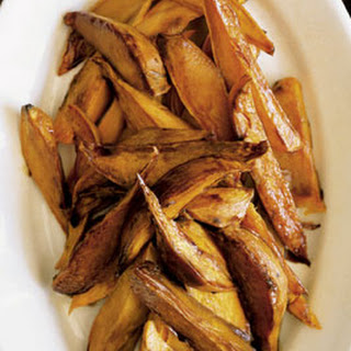 Molasses Horseradish Sweet Potato Spears