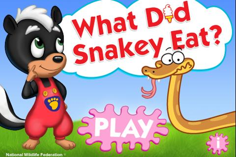 What Did Snakey Eat?- screenshot