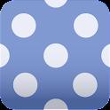 cute polka dots wallpaper icon